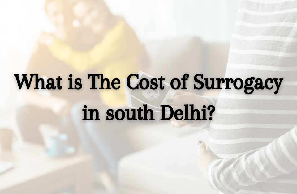 What is The Cost of Surrogacy in south Delhi